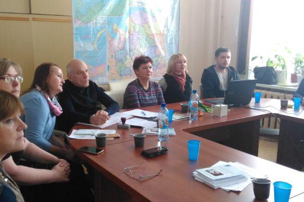 Рабочая группа в Архангельске