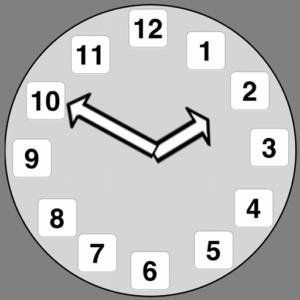 """тест """"Часы"""" для пожилых"""
