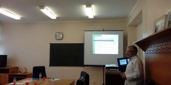 Лекция зав. наркологическим отделением